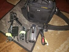 Sony Handycam DCR-SX85 16GB HDD Flash Media 70x Extended Zoom Camcorder Bundle