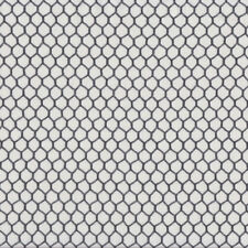 Chicken Wire on White Country Farm Quilting Fabric FQ or Metre *New*