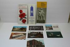 Vintage Hershey Pa Paper Souvenir Items - Brochures Booklets Postcards