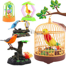 1pc Cage Toy Imitation Lighting Electric Creative Bird Cage for Boys