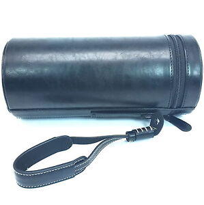 NEW Large Camera Lens Bag PU Camera Case For Canon Nikon Sony Fuji Lens barrel