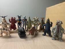 Bandai Ultraman & MonsterSeries 500 Used - 11 Figures
