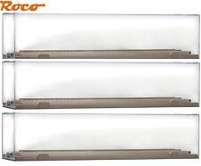 Roco H0 40026-S Vitrine / Präsentationsbox für Modelle bis 290 mm (3 Stück) NEU
