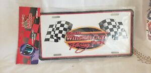 NASCAR Winston Cup Series Racing Metal License Plate 1998 NEW