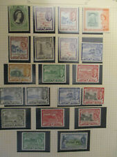 ST CHRISTOPHER  1952 ONWARDS MN/H & M/H SMALL SELECTION STAMPS