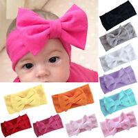 Newborn Infant Baby Girl Large Bow Headband Hairband Headwear Hair Accessories