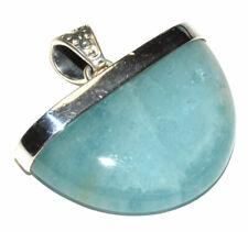 Aquamarine 925 Sterling Silver Pendant Jewelry JB167145