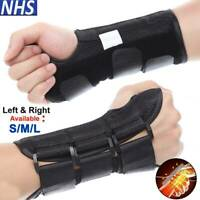 Wrist Support Hand Brace Carpal Tunnel Splint Arthritis Protector Injury Pain HG
