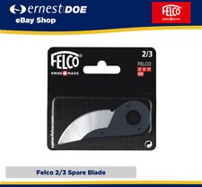 More details for felco secateurs cutting blade 2/3 - for model 2,4,11,400 - new and sealed