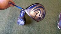 ping g5 driver 10.5 grafalloy prolaunch blue stiff shaft