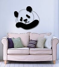 Wall Stickers Vinyl Decal Panda Animal Great Decor for Children's Room (ig734)