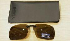 Occhiali da sole Sunglasses Addizionale Polarizzato INVU C 2401 B MARRONE 100%UV