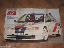 # POSTER PEUGEOT 306 MAXI 1996 CM.80X54 AB10