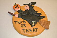 Eddie Walker door/wall hanger Halloween witch pumpkin Midwest of Cannon Falls