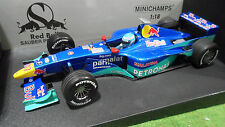 F1 SAUBER PETRONAS 2000 SHOW CAR SALO #17 RED BULL 1/18 MINICHAMPS 180000087