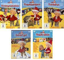 5 DVDs * UNSER SANDMÄNNCHEN - DVD 6 - 10 IM SET # NEU OVP =