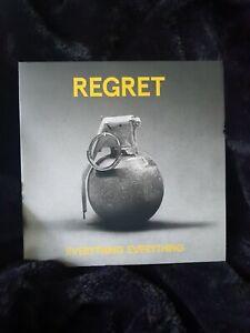 """EVERYTHING EVERYTHING Regret 2015 UK vinyl 7"""" single - new and not sealed"""