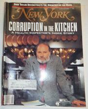 New York Magazine Corruption In The Kitchen October 1988 011615R
