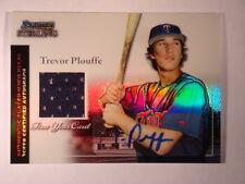 2004 Trevor Plouffe Bowman Sterling Jersey Refractor #BS-TP #045/199 Mint
