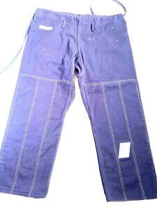 Brazilian fight wear Navy blue pants size A2