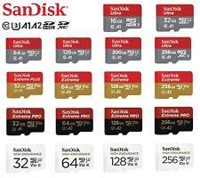 Micro SD Card SanDisk 32GB 64GB 128GB 256GB Ultra Extreme PRO Class 10  Memory