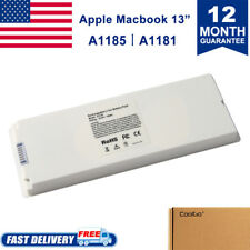 """Rechargeable Battery For Apple MacBook 13""""inch A1181 A1185 MA561 MA566 WHITE OEM"""
