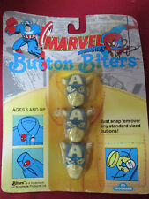 Marvel Button Biters Captain American 1991 Brookside