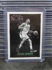 2015-16 Noir Jabari Parker Black & White Platinum #4/10 Bucks C571