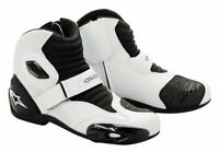 Alpinestars S-MX1 Size 41 Euro White/Black - **SUPER SALE**