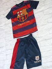 Ensemble maillot + short FC BARCELONA Barca fcb signed signé RAFAEL MARQUEZ foot