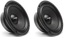 (2) NEW SKAR AUDIO FSX65-8 6.5-INCH 8 OHM 300W MAX CAR PRO AUDIO SPEAKERS - PAIR