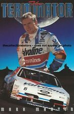 MARK MARTIN VALVOLINE FORD RACING NASCAR WINSTON CUP COSTACOS MINI PHOTO POSTER