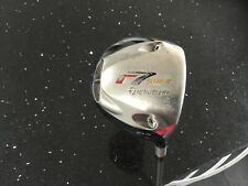 TaylorMade R 7 quad driver with 10.5° of loft on a regular graphite shafted golf