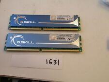 G.Skill F2-6400CL5D-4GBPQ 2x2Gb=4Gb PC2-6400 800Mhz DDR2 Desktop Memory RAM 1631