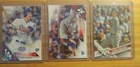 2016/2017 Topps Corey Seager (3) Three Rookie Card Lot! Los Angeles Dodgers