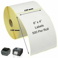 100mm x 150mm Royal Mail Thermal Labels - 500 Labels Per Roll Thermal Printers