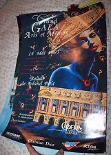 1993 French Paris Ballets de Roland Petit Grand Gala Arts et Metiers Poster