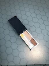 New CLINIQUE Eyeshadow All About Shadow Duo (01) LIKE MINK 1.7g Deluxe Travel