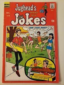 Jughead's Brand New Jokes #8, Nov 1968 Archie Comics (Silver Age). VG/FN 5.0 UP!