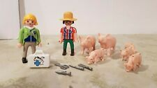 Playmobil Zoo Tierpark Bauernhof Farm - Tierärtztin mit Schweinen Pics Cerdos