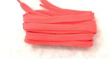 FLAT SHOE LACES approx 120cm - Fluro Pink