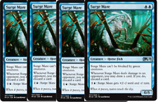 4x Surge Mare NM MTG M19 Core Set 2019 Blue Uncommon