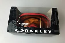 Oakley Catapult Snow Ski Goggles 59-592 Shards Red Frame w/Persimmon LensNEW!!