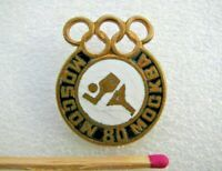 Badge Pin Olympic Games Moscow 1980,sign USSR