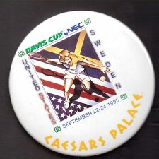 DAVIS CUP-BY NEC-U.S. VS SWEDEN-SEP 22-24, 1995-CAESARS PALACE-3 INCHES WIDTH