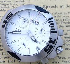 SECTOR EXPANDER EXP 135 ETA G10.21A DATE Chronograph Quartz Mens Wrist Watch