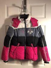 Bogner Kids Big Girls DOWN SKI JACKET Pink, White, Gray, Black  Size L (12)