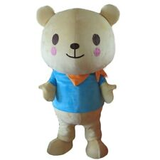 Halloween The Warm Scarf Bear Mascot Costume Cosplay Clothing Carnival Adults