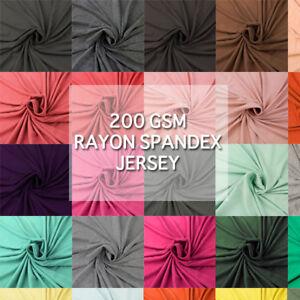 Rayon Spandex Jersey Knit Fabric SKU 406