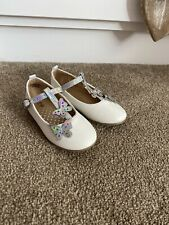 Mothercare Party Shoes Infant Size 6 Beautiful Butterflies 🦋